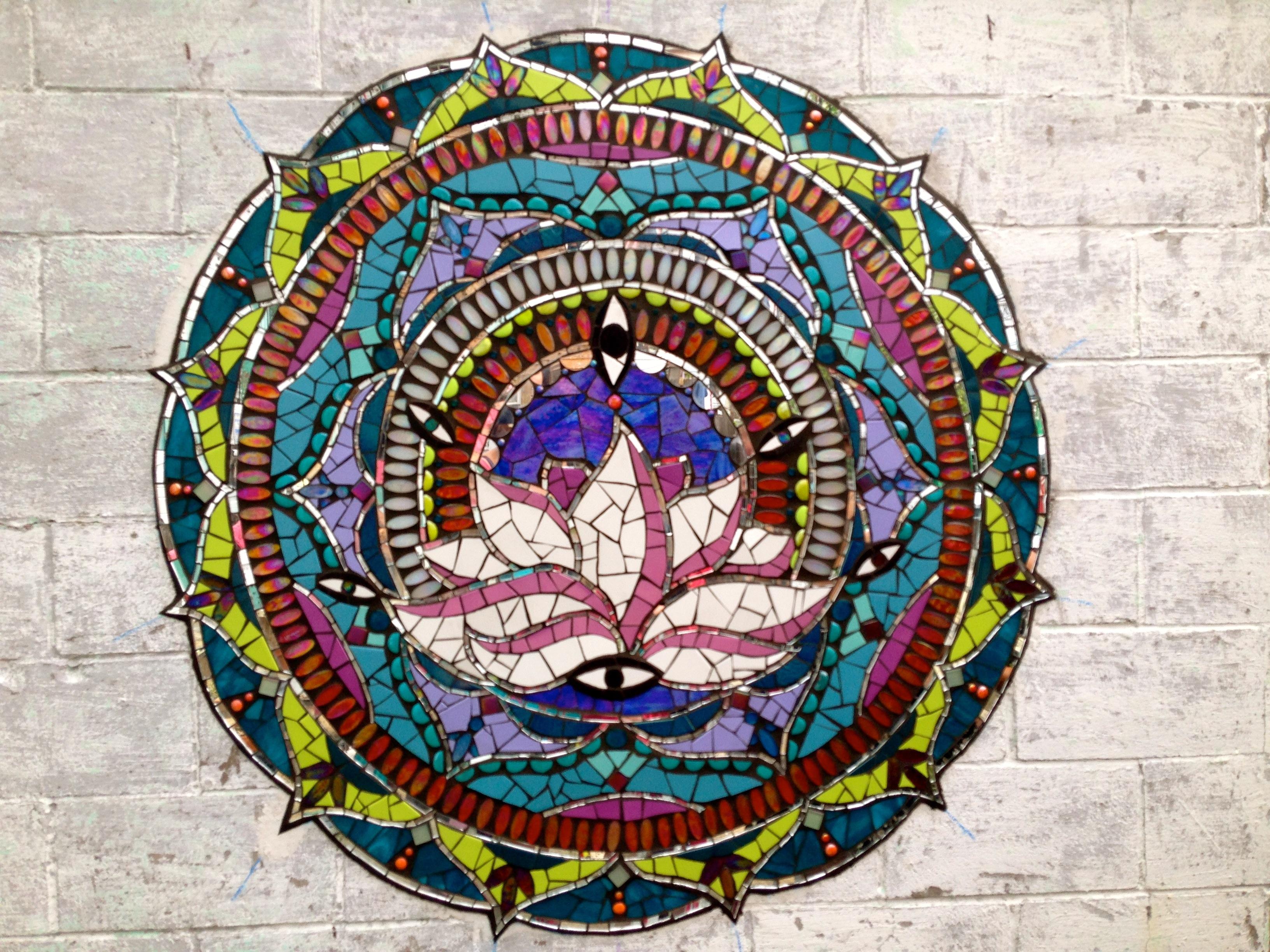 Yoga Inspired Mosaics Whiskey Gulch Mosaics